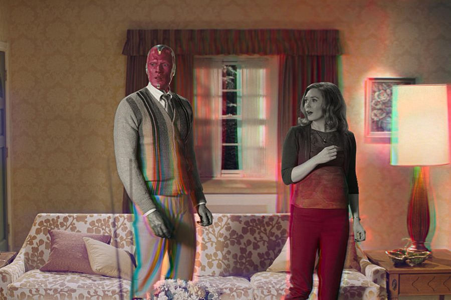 "Marvel's ""WandaVision"" is a delightful sitcom mixed with suspense"