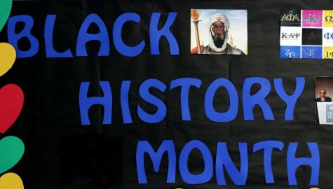 Teachers and organizations decorated the halls with information on Black history for the month of February.
