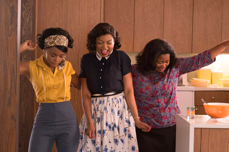 "Actresses Janelle Monáe, Taraji P. Henson and Octavia Spencer in ""Hidden Figures,"" streaming on Disney Plus."