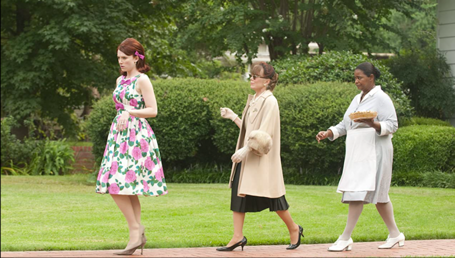 """Actresses Bryce Dallas Howard, Sissy Spacek and Octavia Spencer in """"The Help."""""""