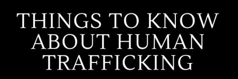 Infographic: Human Trafficking