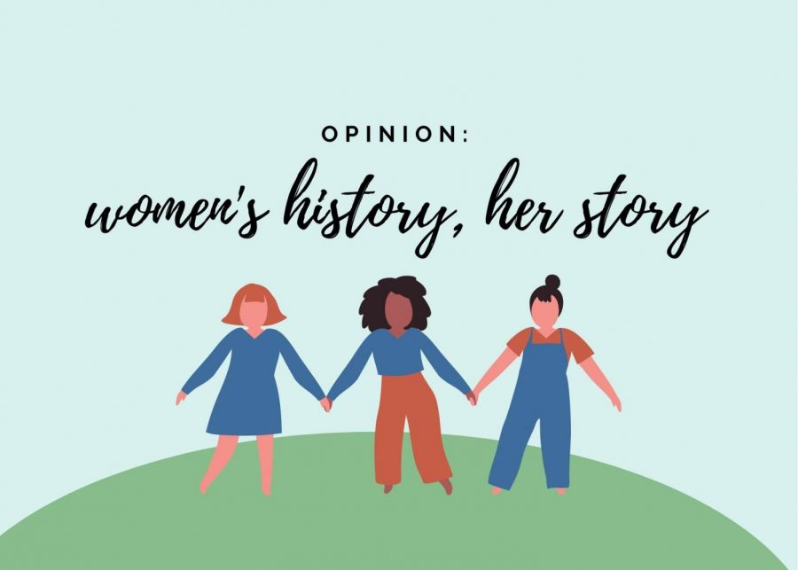 Opinion: women's history, her story