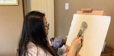 Q&A: Art Award Winner, junior Ashley Chon