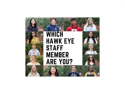 Which 2020-2021 Hawk Eye staff member are you?