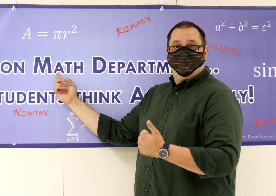 Precalculus and Calculus teacher Bradley Barry