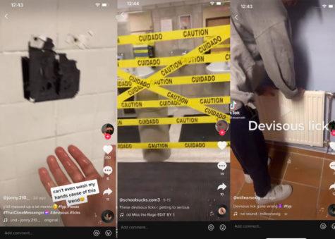 #DeviousLicks sweeps the school, causing destruction in bathrooms